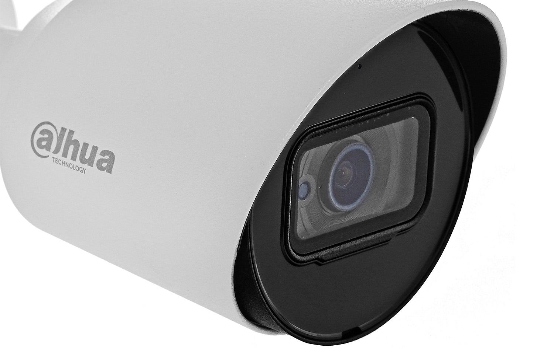 Kamera Dahua z wbudowanym oświetlaczem IR.