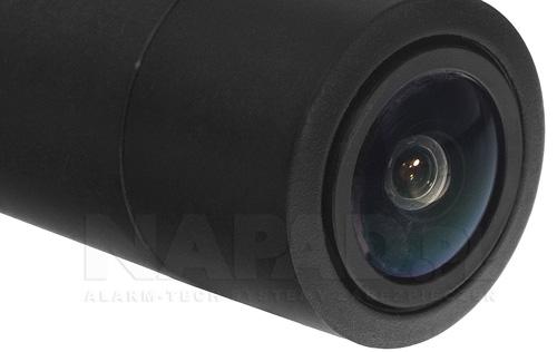 Kamera Dahua z stałoogniskowym obiektywem.