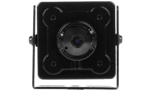Kamera Dahua z stałoogniskowym obiektywem pinhole.