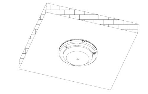Przykładowy schemat instalacji mikrofonu Dahua.
