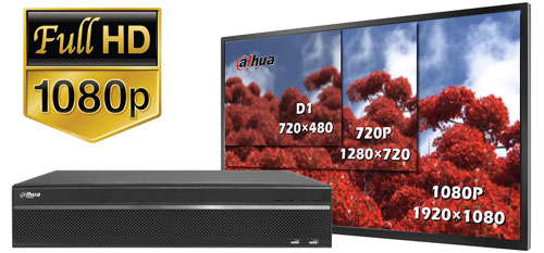 DH-HCVR5824S-S2 - Obraz w rozdzielczości Full HD.