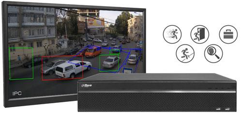 DH-HCVR5824S-S2 - Obsługa analizy wideo.
