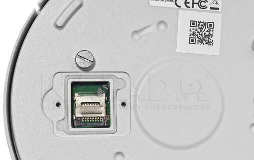 DH-IPC-EBW8630P - Slot karty microSD.