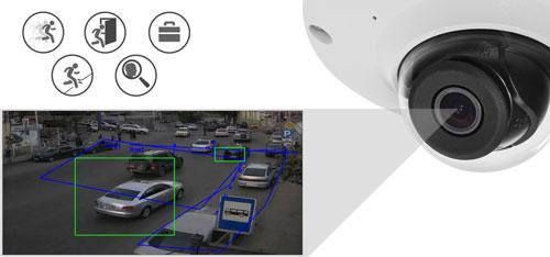 DH-IPC-HDB4231C-AS-0280B / DH-IPC-HDB4231C-AS-0360B - Inteligentna analiza detekcji obrazu.
