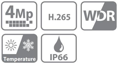 DH-IPC-HDB4431CP-AS-0280B - Ikonki specyfikacji kamery IP.