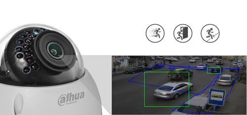 DH-IPC-HDBW1431E-0280B / DH-IPC-HDBW1431E-S-0280B - Inteligentna analiza detekcji obrazu.