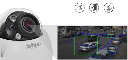 DH-IPC-HDBW2531R-ZS-27135 - Inteligentna analiza detekcji obrazu.