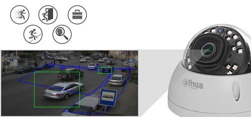 DH-IPC-HDBW4631E-ASE-0280B - Inteligentna analiza detekcji obrazu.