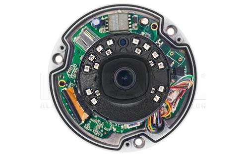 DH-IPC-HDBW4631E-ASE-0280B - Obiektyw stałoogniskowy w kamerze IP Dahua.