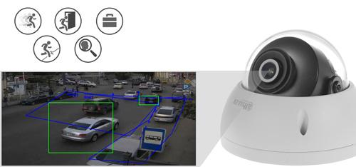 DH-IPC-HDBW4239R-ASE-NI-0360B - Inteligentna analiza detekcji obrazu.