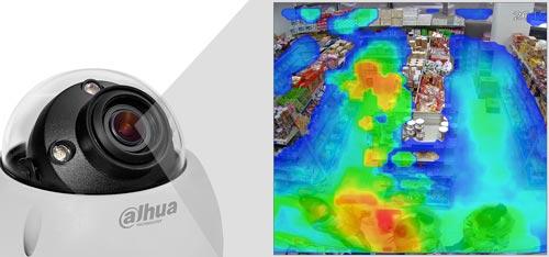 DH-IPC-HDBW81230EP-ZH - Funkcja mapy ciepła.