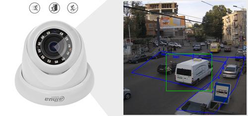 DH-IPC-HDW1230S-0280B / DH-IPC-HDW1230S-0360B - Inteligentna analiza detekcji obrazu.