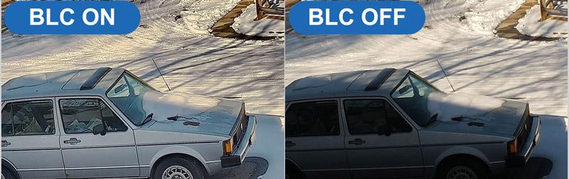 Kompensacja światła wstecznego - BLC.