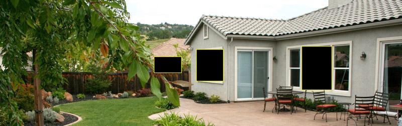 Kamera Dahua z funkcją stref prywatności.