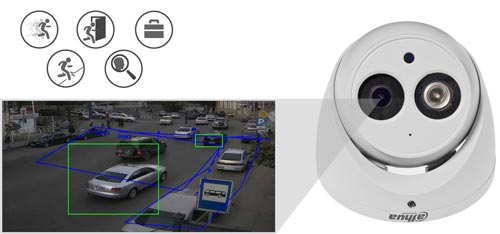 DH-IPC-HDW4831EM-ASE-0400B - Inteligentna analiza detekcji obrazu.