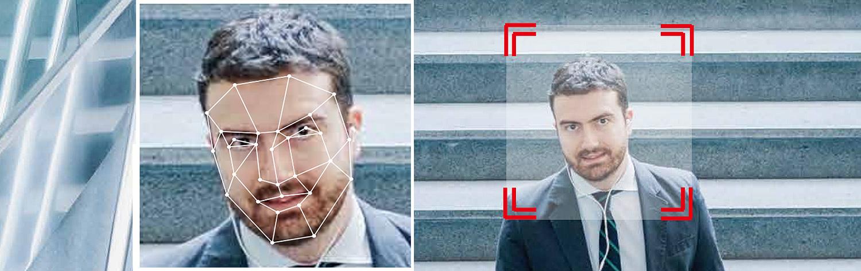 Funkcja AI: wykrycie twarzy.