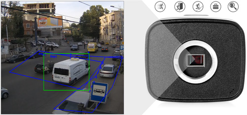 DH-IPC-HF81230E - Inteligentna analiza detekcji obrazu.