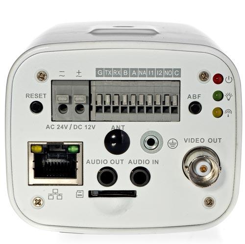 DH-IPC-HF5431EE - Złącza zastosowane w kamerze IP Dahua.
