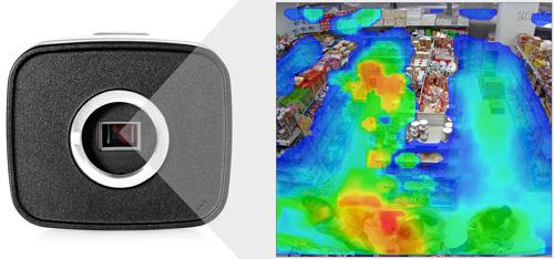 DH-IPC-HF81230E - Funkcja mapy ciepła.
