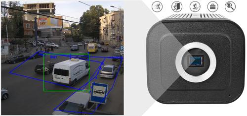 DH-IPC-HF8331F-E - Inteligentna analiza detekcji obrazu.