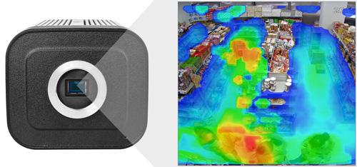 DH-IPC-HF8331F-E - Funkcja mapy ciepła.