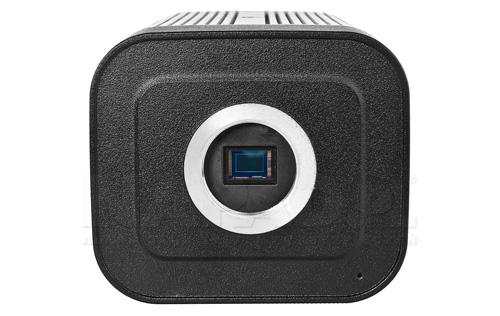 DH-IPC-HF8331F-E - Przedni wygląd kamery box Dahua.
