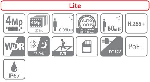 DH-IPC-HFW2431T-ZS-27135 - Ikonki specyfikacji kamery IP.