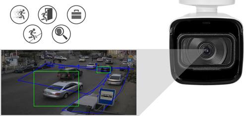 DH-IPC-HFW4239T-ASE-NI-0360B - Inteligentna analiza detekcji obrazu.