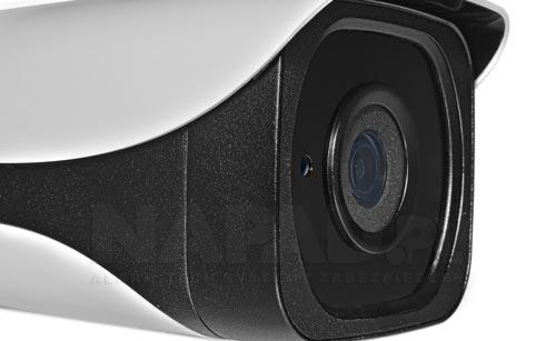 DH-IPC-HFW4431E-SE-0360B - Wbudowany stałoogniskowy obiektyw w kamerze.