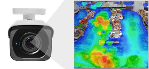 DH-IPC-HFW81230E-ZH - Funkcja mapy ciepła.