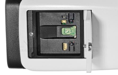 DH-IPC-HFW81230E-ZH - Slot karty pamięci w kamerze IP Dahua.