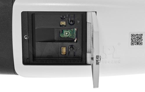 DH-IPC-HFW8231EP-ZHE - Slot karty pamięci microSD.