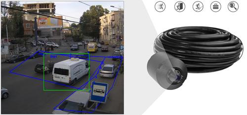IPC-HUM8431-E1 + IPC-HUM8431-L1-0280B - Inteligentna analiza detekcji obrazu.