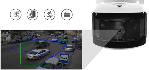 DH-IPC-PFW8601P-H-A180 - Inteligentna analiza detekcji obrazu.