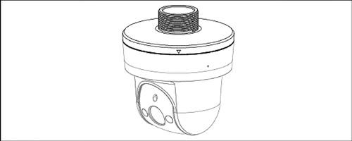 DH-PFA103 - Przykład montażu adaptera.