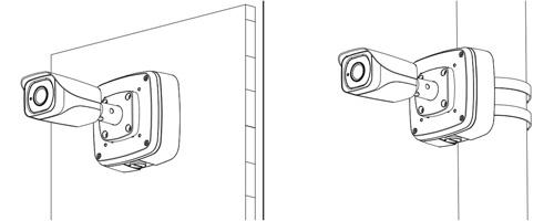 Przykład wykorzystania uchwytu montażowego.