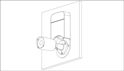 DH-PFA12A - Przykład wykorzystania uchwytu z kamerą tubową.
