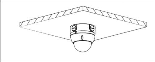 DH-PFA136 / DH-PFA136-BLACK - Przykład wykorzystania uchwytu.
