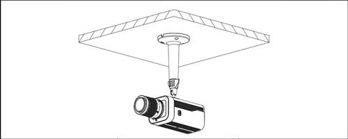 DH-PFB110W - Przykład wykorzystania uchwytu.