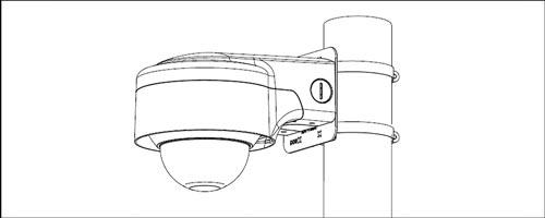 DH-PFB210W - Przykład wykorzystania uchwytu.