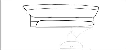 DH-PFB601W - Przykład wykorzystania uchwytu.
