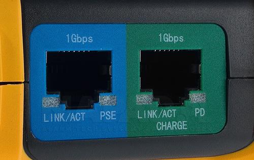 DH-PFM900-E - 2 porty RJ45 10/100/1000Mbps (LAN/PSE, PD).