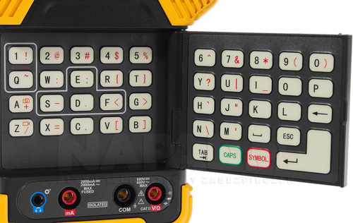 DH-PFM900E - Wbudowany multimetr cyfrowy.