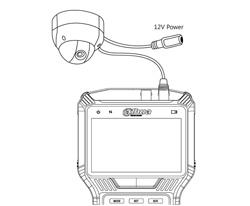 DH-PFM905-E - Przykład zastosowania z podłączoną kamerą AnalogHD.