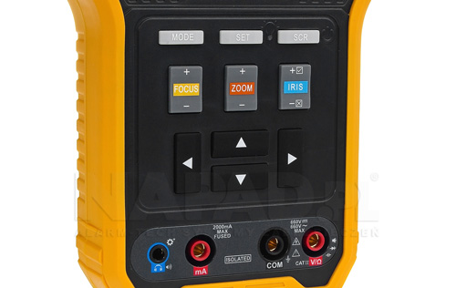 DH-PFM905E - Wbudowany multimetr cyfrowy.