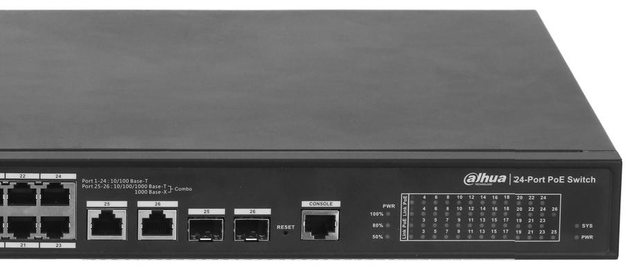 Obsługa modułów SFP.