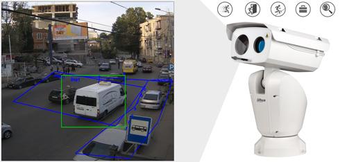 DH-PTZ12248V-LR8-N - Inteligentna analiza detekcji obrazu.