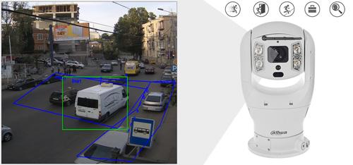 DH-PTZ19245U-IRB-N - Inteligentna analiza detekcji obrazu.