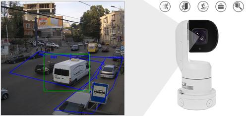 DH-PTZ1A225U-IRA-N - Inteligentna analiza detekcji obrazu.