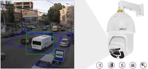 DH-SD10A248V-HNI - Inteligentna analiza detekcji obrazu.